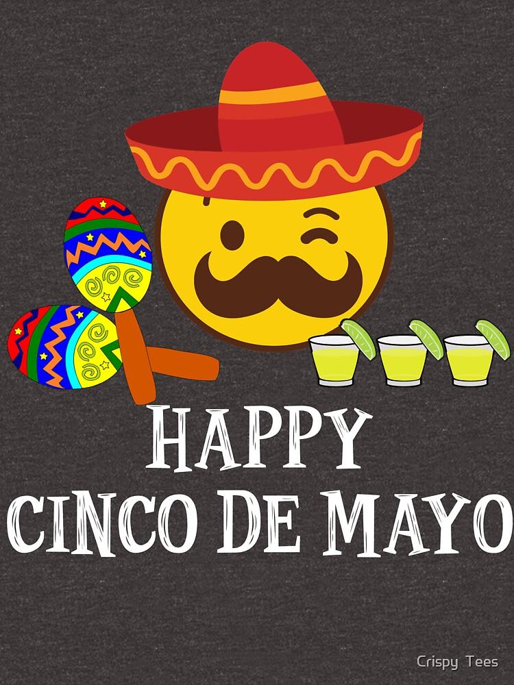 Quot Happy Cinco De Mayo T Shirts Fiesta Emoji Tequila Shots