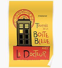 La Boîte Bleue Poster