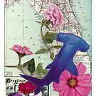 Floral Florida Hammerhead by craftyhag