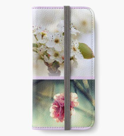 Impressionen des Frühlings iPhone Flip-Case