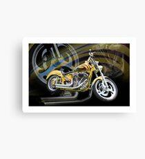 Custom Cruiser Canvas Print