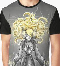 Rainbow Punk: Gothic Gold Graphic T-Shirt