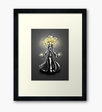 Rainbow Punk: Gothic Gold Framed Print
