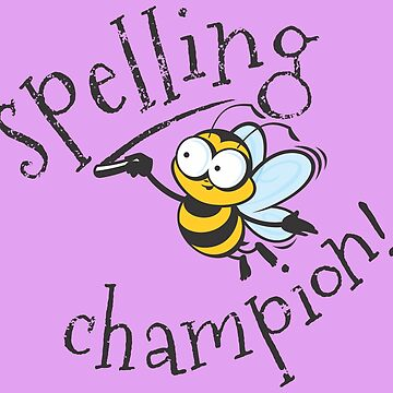 Spelling Bee Champion by jamieleeart