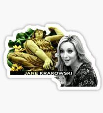 Jane Krakowski - 30 Rock Opening Sticker