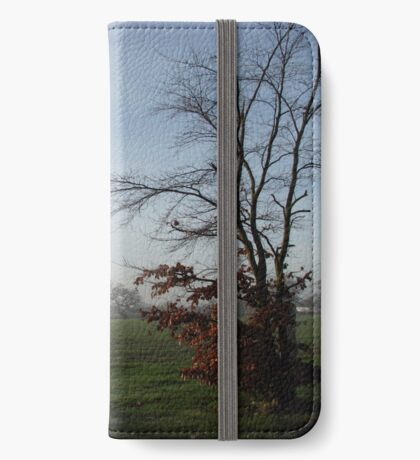 One Misty Morning in Essex iPhone Flip-Case