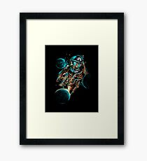 Space Impact Framed Print