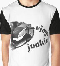 Vinyl Junkie Graphic T-Shirt