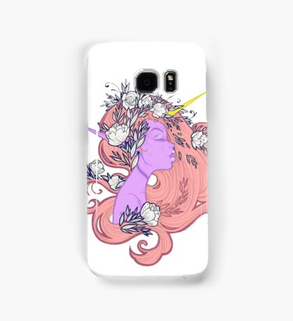 Horned Floral Fairy Samsung Galaxy Case/Skin