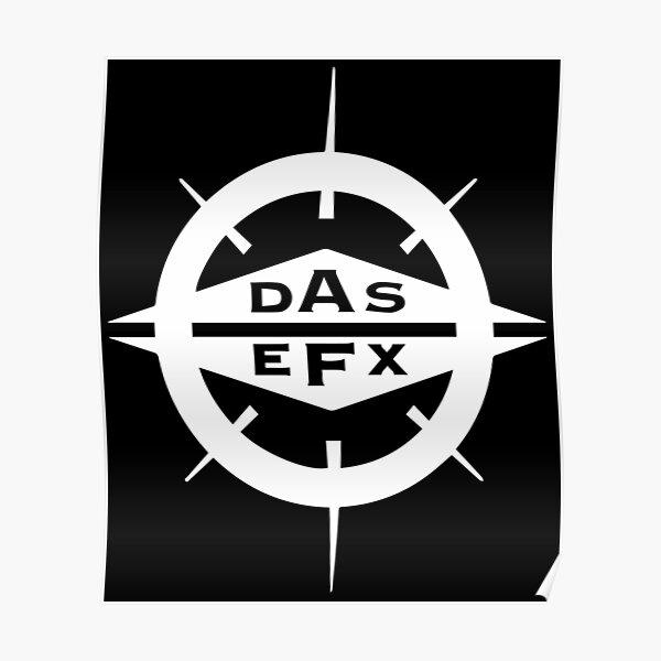 DAS EFX white logo Poster