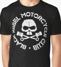 Black Rebel Motorcycle Club • BRMC • White Graphic T-Shirt