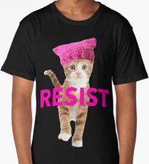 Resistance Kitten Long T-Shirt