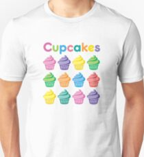 Cupcakes Pretty Unisex T-Shirt