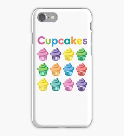 Cupcakes Pretty iPhone Case/Skin