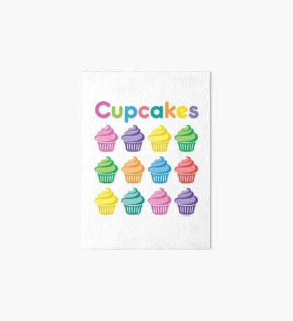 Cupcakes Pretty Art Board