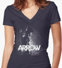 ARROW Women's Fitted V-Neck T-Shirt