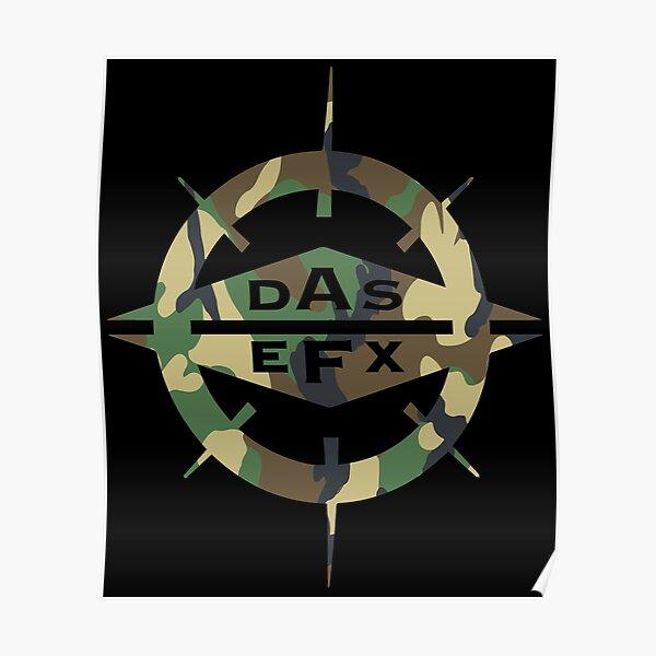 DAS EFX camouflage Poster