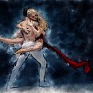 Dancers In Loving Embrace by Myron Watamaniuk