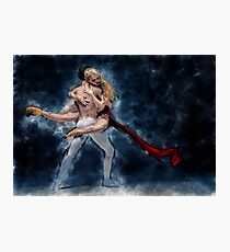 Dancers In Loving Embrace Photographic Print