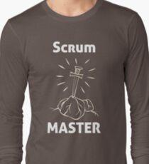 Scrum Master, an Agile T-shirt Long Sleeve T-Shirt