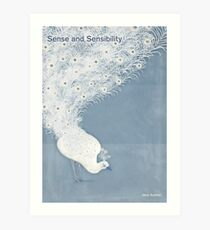 "Jane Austen ""Sense and Sensibility"" Art Print"