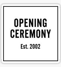 Opening Ceremony NYC Logo Sticker