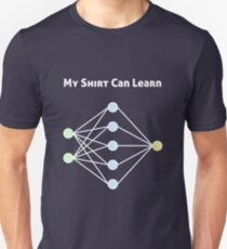 Neuronales Netzwerk Maschinelles Lernen Slim Fit T-Shirt