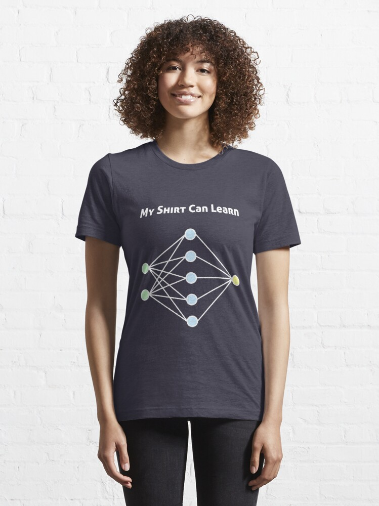 Alternate view of Neural Network Machine Learning Essential T-Shirt