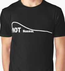 Not a Normal Curve Graphic T-Shirt