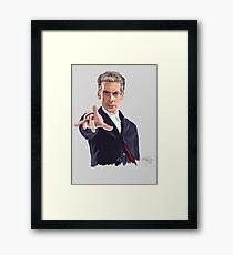 Dr ??? Framed Print