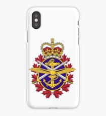 Badge of the Canadian Armed Forces iPhone Case/Skin