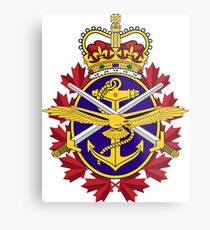 Badge of the Canadian Armed Forces Metal Print