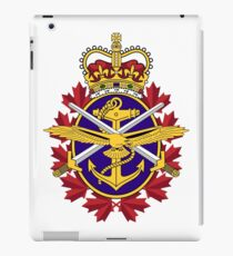 Badge of the Canadian Armed Forces iPad Case/Skin