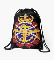 Badge of the Canadian Armed Forces Drawstring Bag