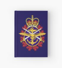 Badge of the Canadian Armed Forces Hardcover Journal
