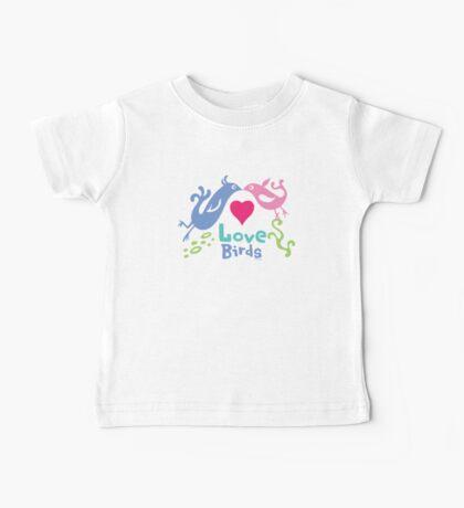 Love Birds - light colors Kids Clothes