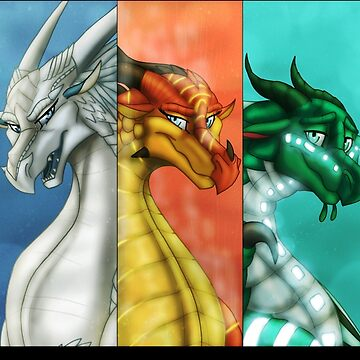 Wings of Fire - New Prophecy Dragonets by RhynoBullraq