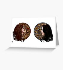 The Agent & The Artificer Greeting Card
