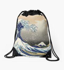 """""""Die große Welle vor Kanagawa"""" von Katsushika Hokusai (Reproduktion) Turnbeutel"""