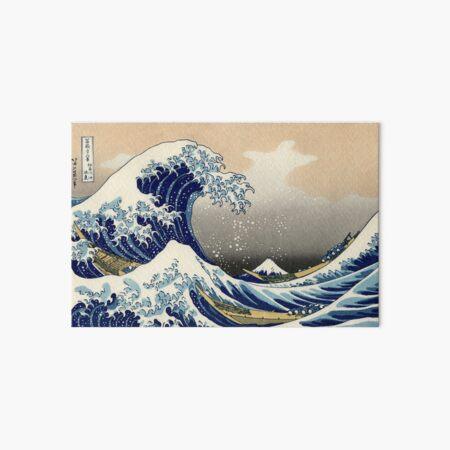 'The Great Wave Off Kanagawa' by Katsushika Hokusai (Reproduction) Art Board Print