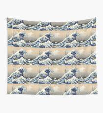 'The Great Wave Off Kanagawa' by Katsushika Hokusai (Reproduction) Wall Tapestry