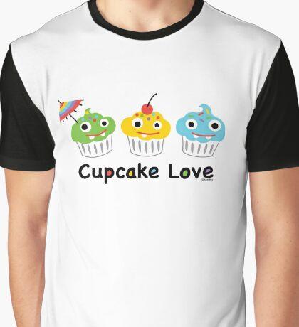 Cupcake Love II Graphic T-Shirt
