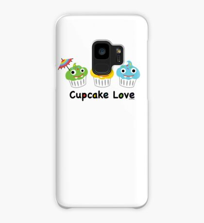 Cupcake Love II Case/Skin for Samsung Galaxy