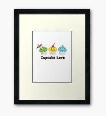 Cupcake Love II Framed Print
