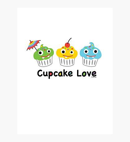 Cupcake Love II Photographic Print