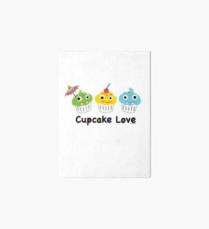 Cupcake Love II Art Board