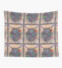 Full Tilt Owl Pinball Wall Tapestry