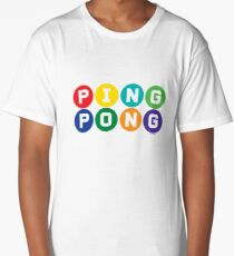 Ping Pong - primary colors Long T-Shirt