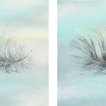 'Pukeko Feather' x2 by MCColyer
