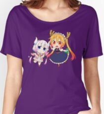chibi dragons Women's Relaxed Fit T-Shirt